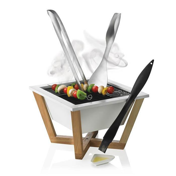 XD Design Portable Carbon Steel Charcoal Pit Barbecue