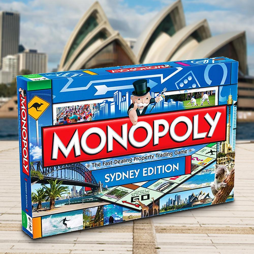 Monopoly Board Game | Sydney Edition