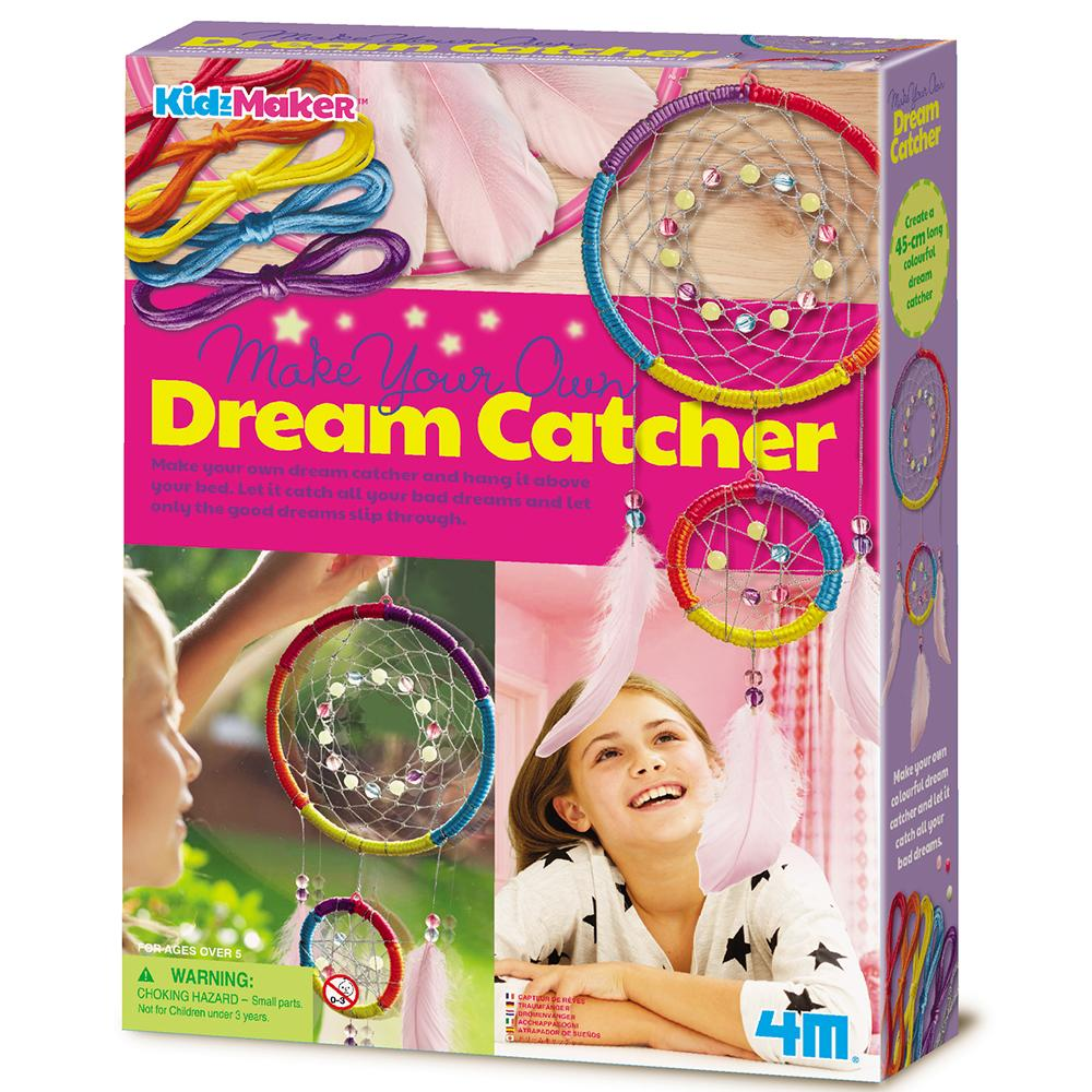 Make Your Own Dream Catcher Kit - - Johnco - Yellow Octopus