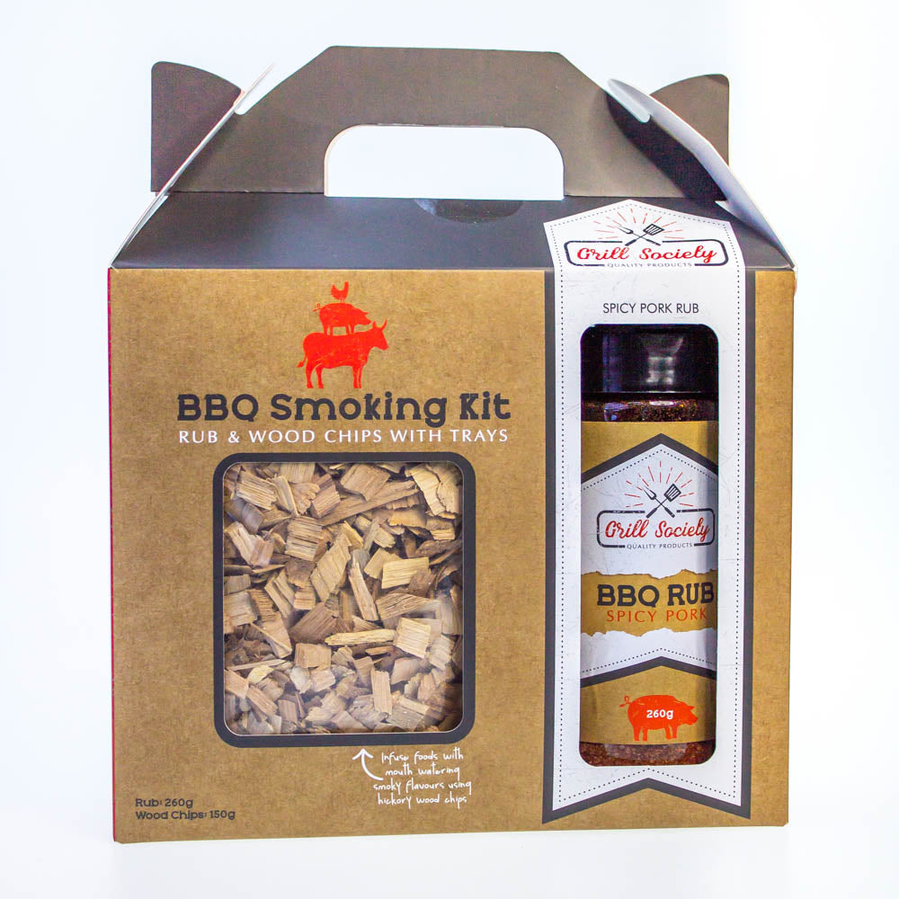 BBQ Smoking Kit - Smokin' Beef or Spicy Pork