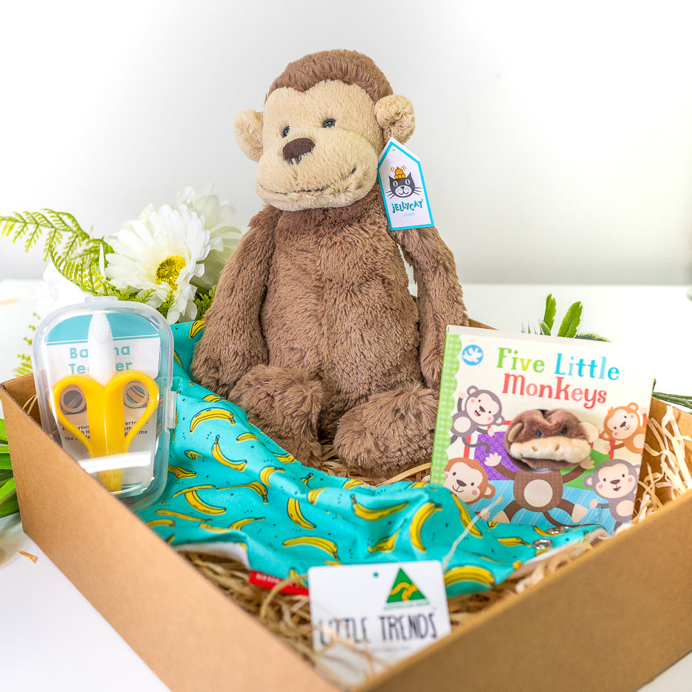 Cheeky Monkey Baby Shower Gift Hamper