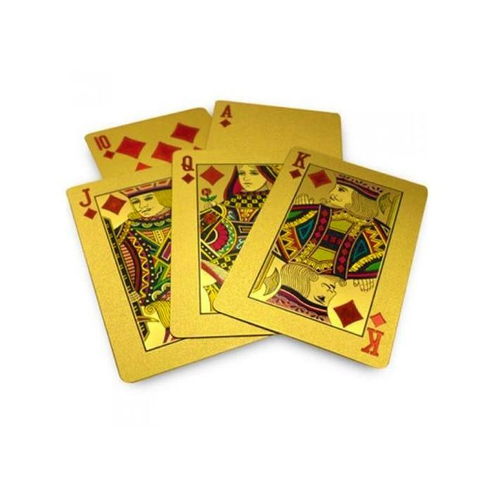 24k gold plated poker cards casino royale opening vimeo