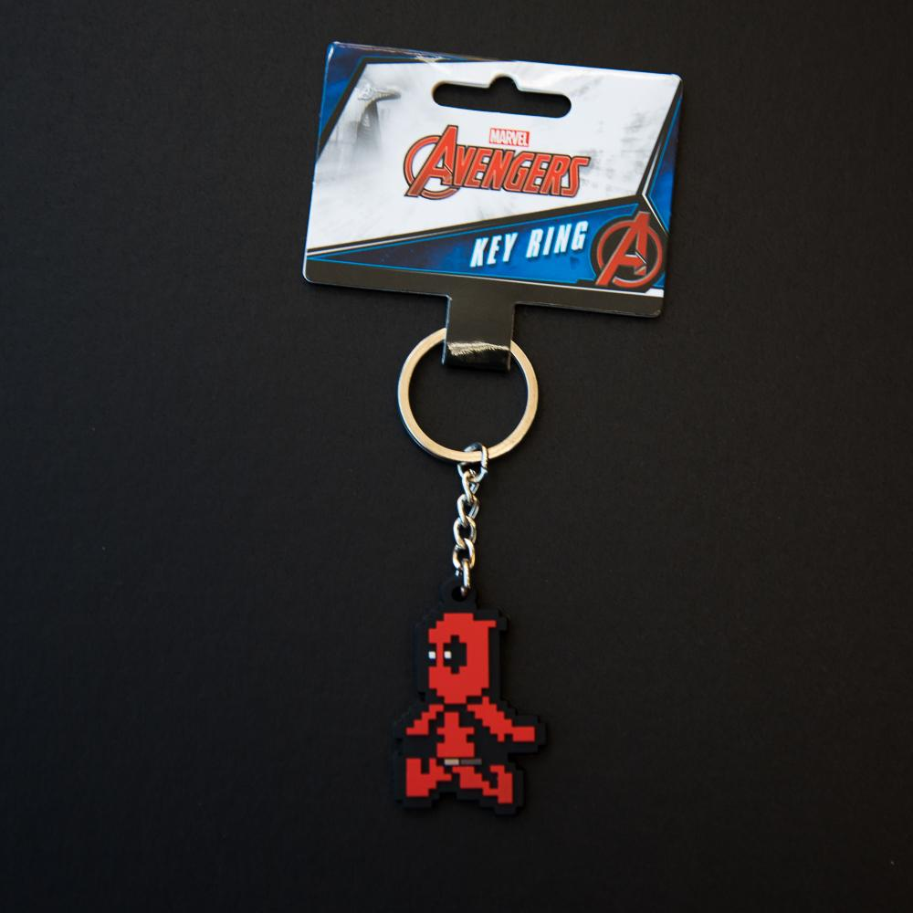 Marvel Deadpool 8-Bit Keyring - - Marvel - Yellow Octopus