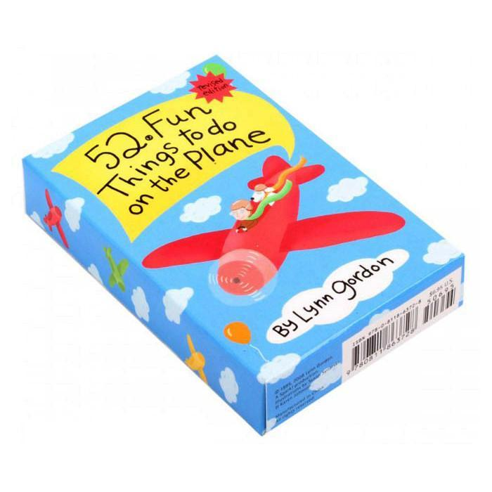 52 Fun Things To Do On A Plane Card Set - - Yellow Octopus - Yellow Octopus