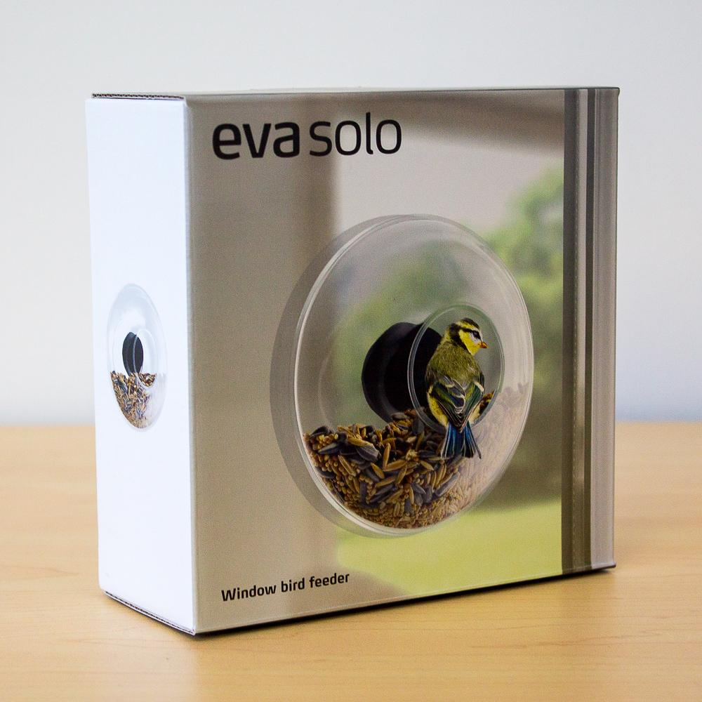 Eva Solo Glass Adhesive Window Bird Feeder - - Eva Solo - Yellow Octopus