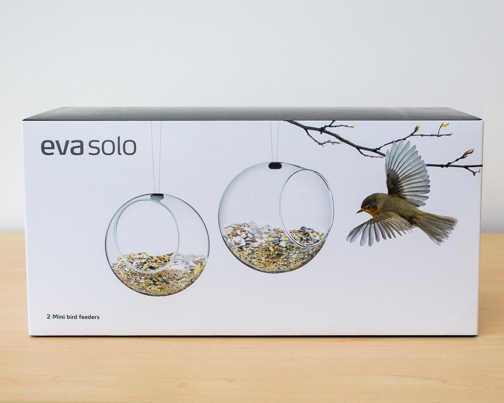 Set of 2 Eva Solo Glass Bird Feeders