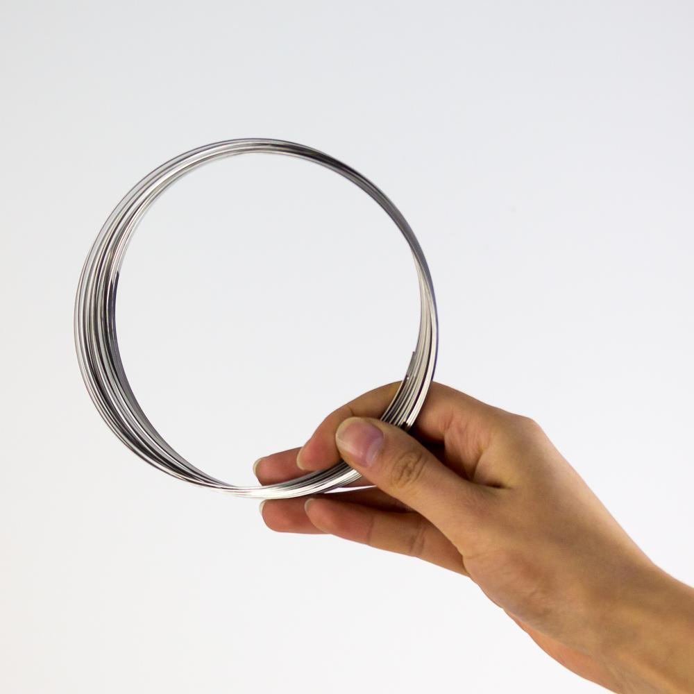Kinetic Rings Spiralling Metal Coil Toy