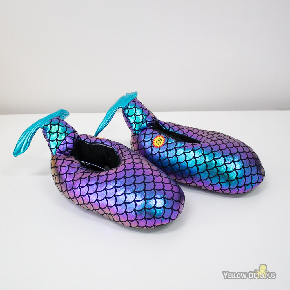 Mermaid LED Light-Up Metallic Slippers