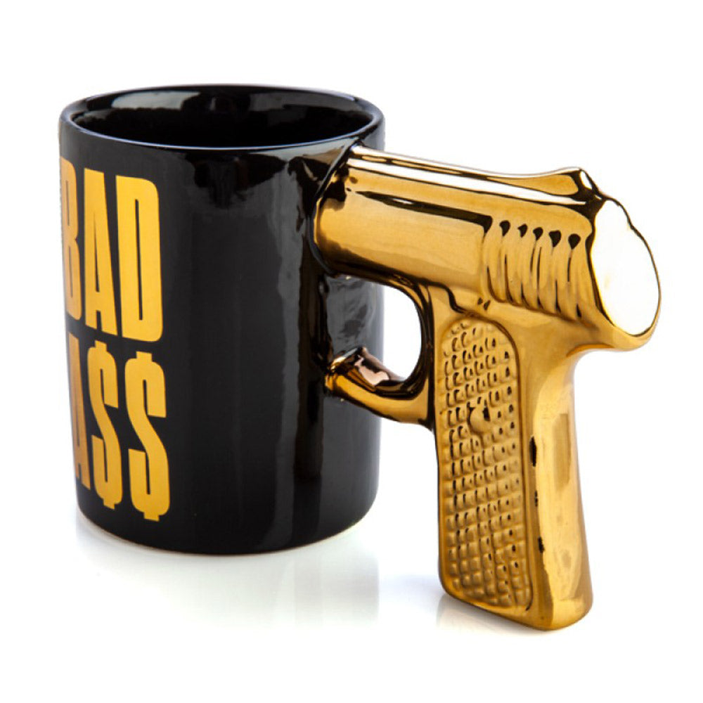 BAD A$$ 3D Gun Handle Mug