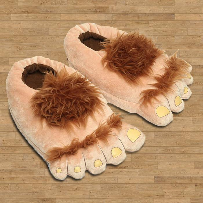 Monster 'Big Foot' Slippers - - Yellow Octopus - Yellow Octopus