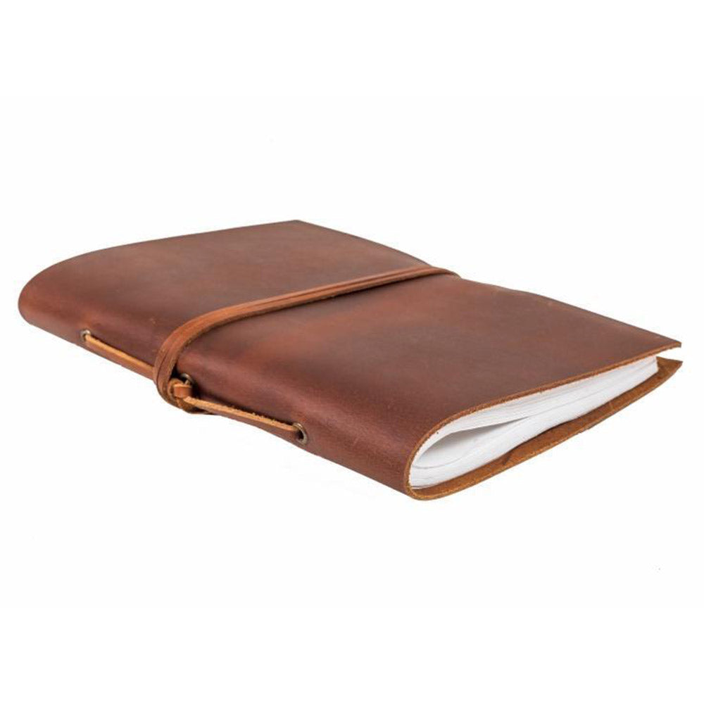 Brown Leather A5 Traveller Journal