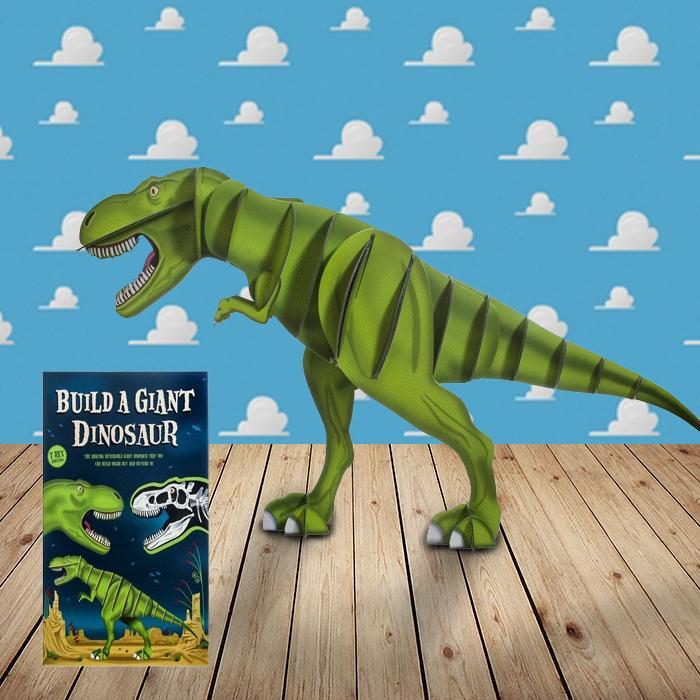 Build A Giant Dinosaur Kids 3D Puzzle - - Yellow Octopus - Yellow Octopus