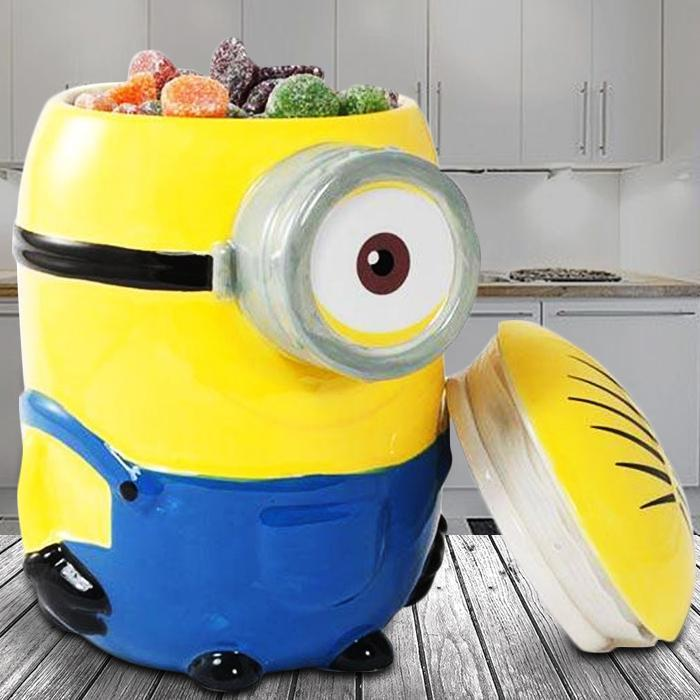 Despicable Me Stuart Cookie Jar - - Yellow Octopus - Yellow Octopus
