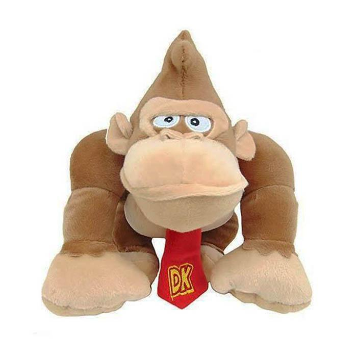 Yellow Octopus Donkey Kong Plush Toy