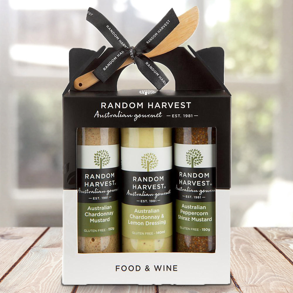 Food & Wine Sauces Gift Set