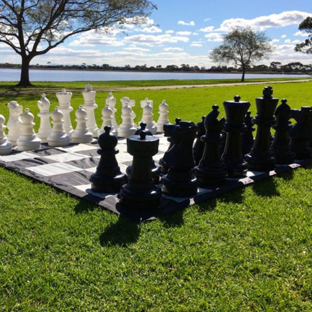 Enormous Outdoor Chess Sets