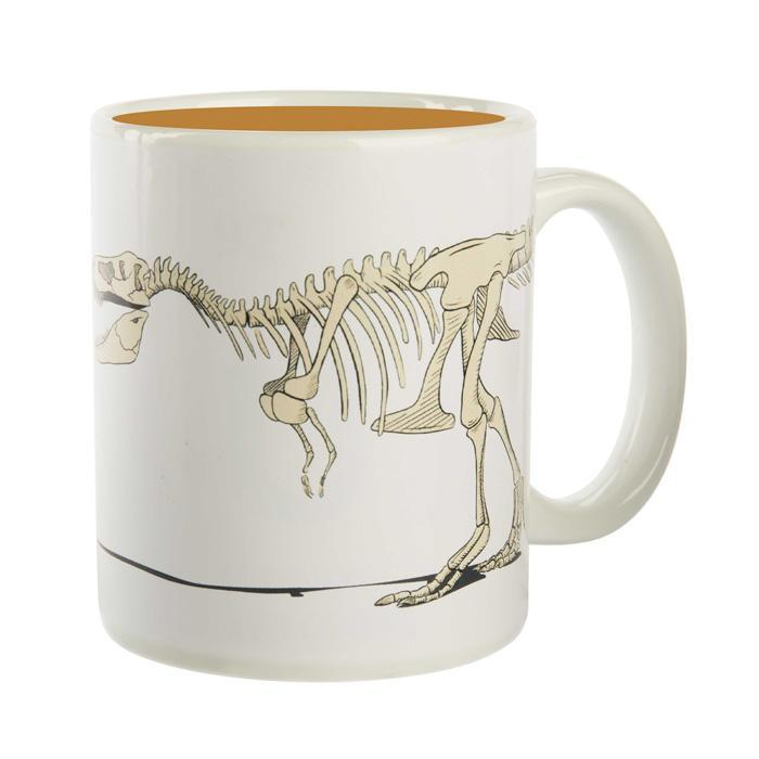 Heat Changing Disappearing T-Rex Dinosaur Mug - - Yellow Octopus - Yellow Octopus