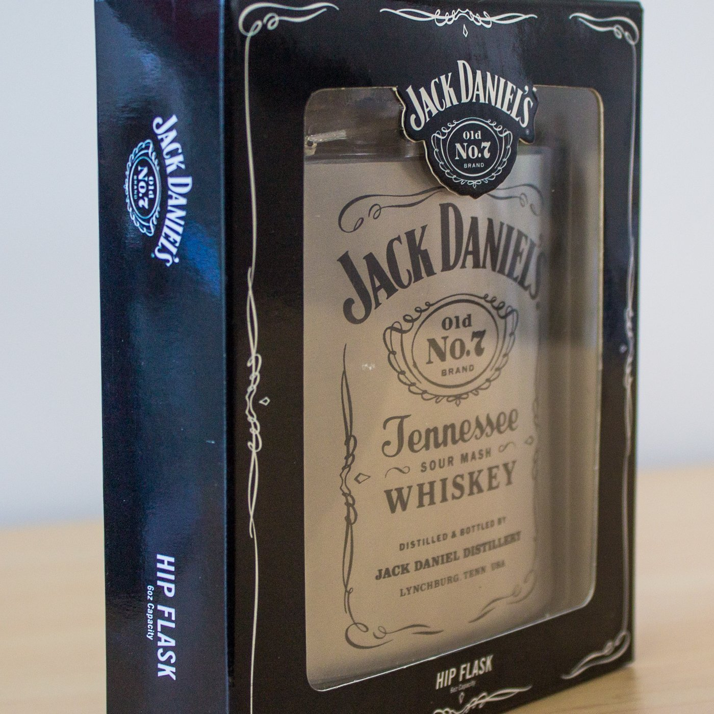 Jack Daniel's Hip Flask - - Yellow Octopus - Yellow Octopus