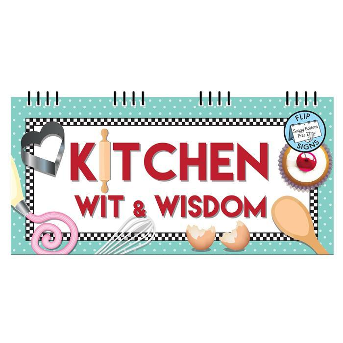 Kitchen Wit & Wisdom Flipbook - - Yellow Octopus - Yellow Octopus