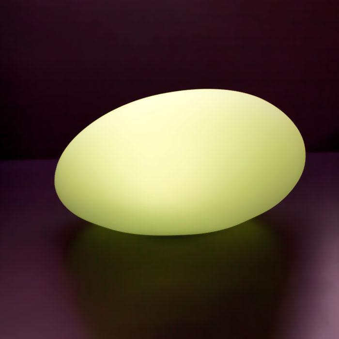 Yellow Octopus LED Rechargeable Pebble Light 27cm