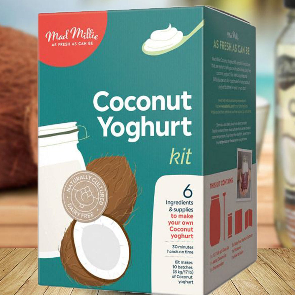 Gifts for teenage girls | Mad Millie Coconut Yoghurt Kit | Beanstalk Mums