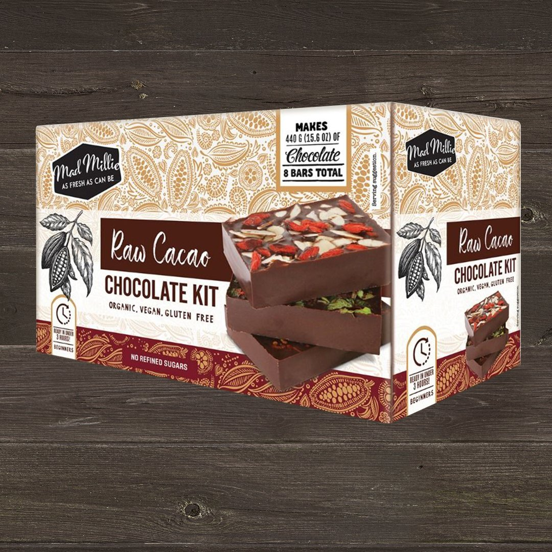 Mad Millie Raw Cacao Vegan Chocolate Making Kit