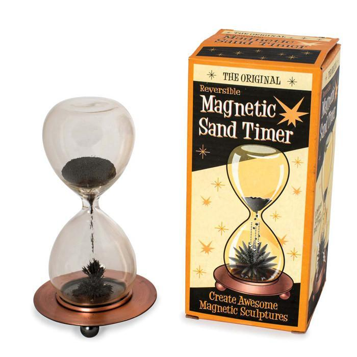 Magnetic Sand Timer - - Yellow Octopus - Yellow Octopus