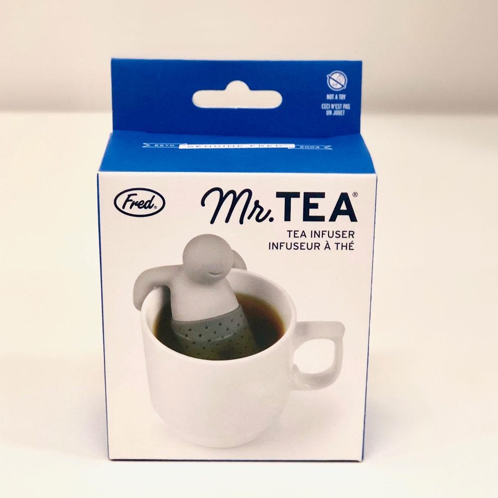 Mr Tea Strainer & Infuser | by Fred - - Fred & Friends - Yellow Octopus