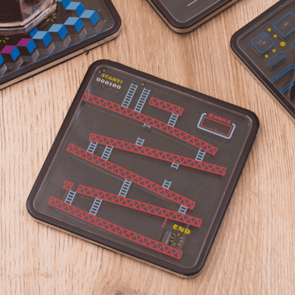 Retro Gaming Puzzle Coasters - Set of 4