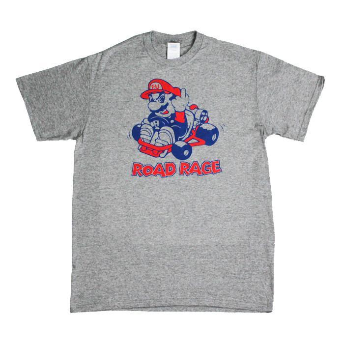 Road Rage T-Shirt - Small - Yellow Octopus - Yellow Octopus