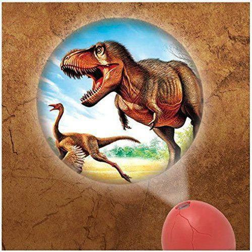 T-Rex Projector Egg - - Dreams 6 - Yellow Octopus