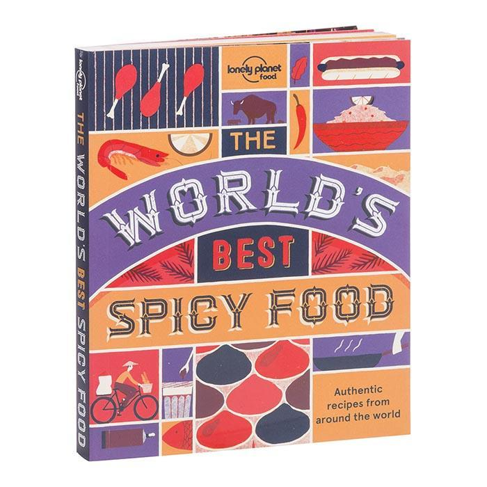 The Lonely Planet Book of World's Best Spicy Food - - Lonely Planet - Yellow Octopus