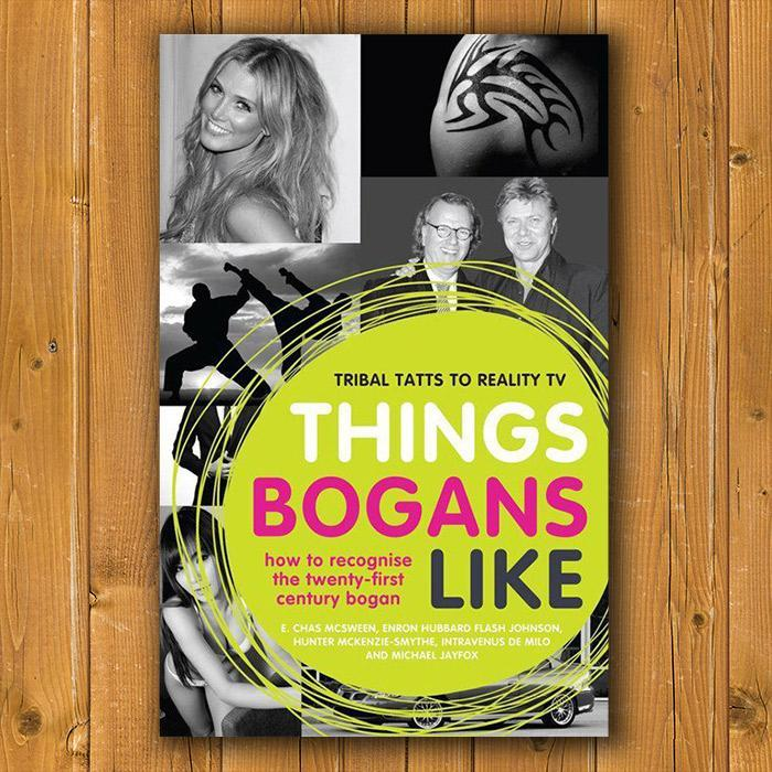 Yellow Octopus Things Bogans Like - Softcover Book