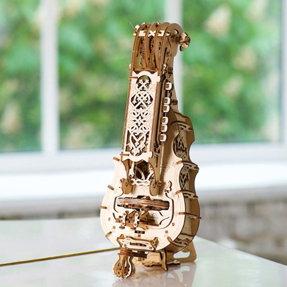 Ugears Hurdy Gurdy Mechanical Instrument Kit