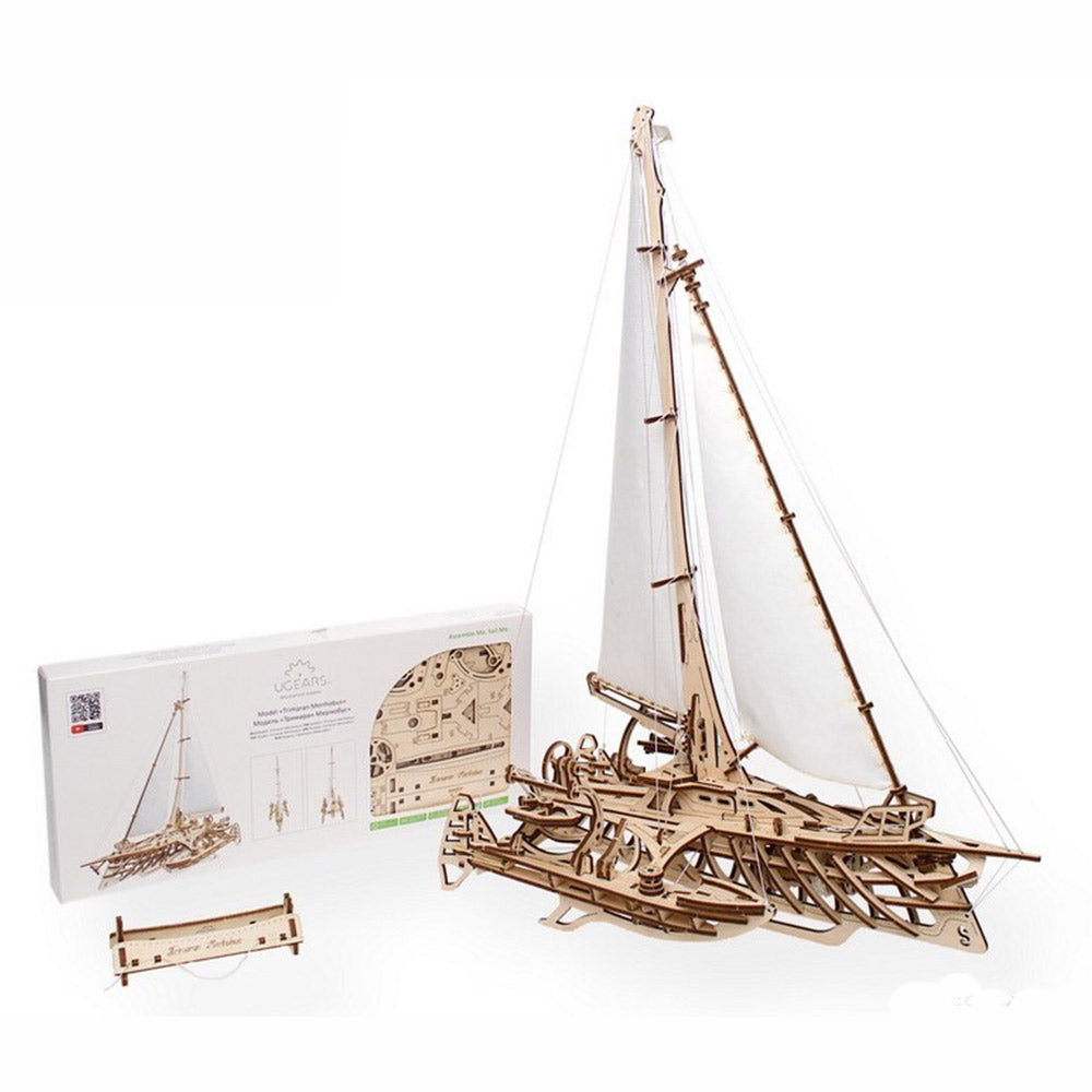 Ugears Trimaran Merihobus Yacht Model Kit