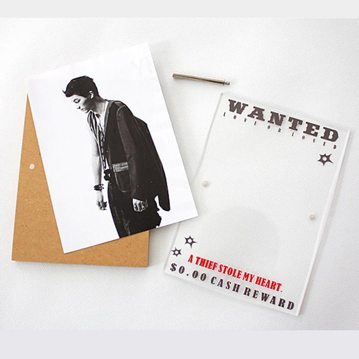 Wanted Western Photo Frame 6