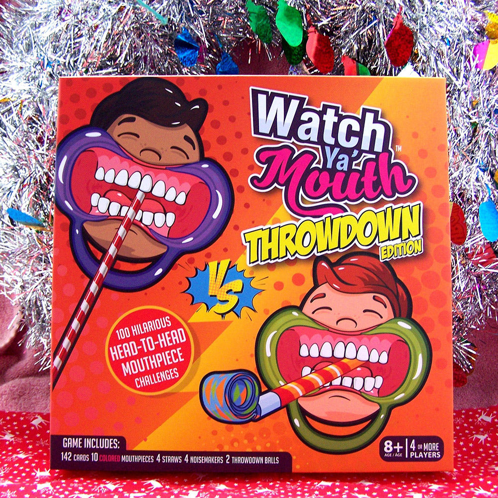Watch Ya Mouth Throwdown: The Outrageous Mouth Guard Game