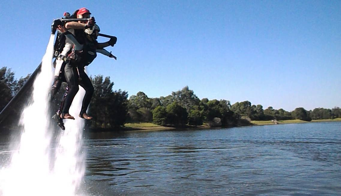 Water Powered Jet Pack - - Yellow Octopus - Yellow Octopus