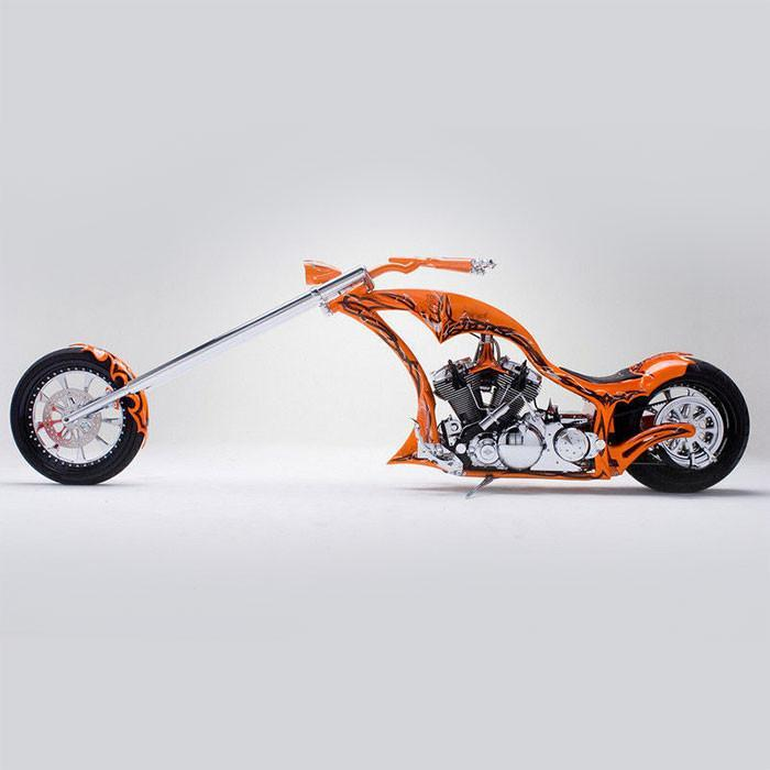 yamaha road star bms motorcycle chopper yellow octopus. Black Bedroom Furniture Sets. Home Design Ideas