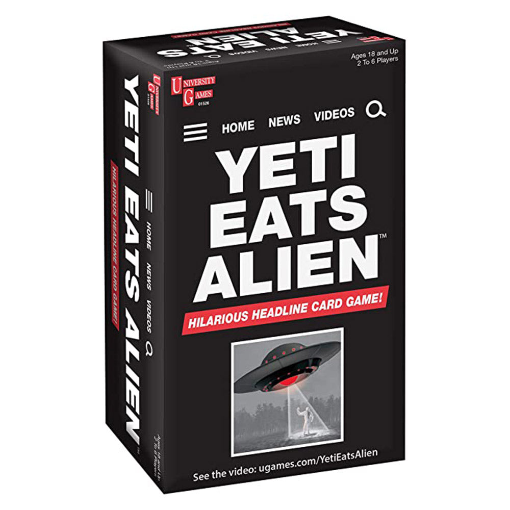 Yeti Eats Alien Card Game