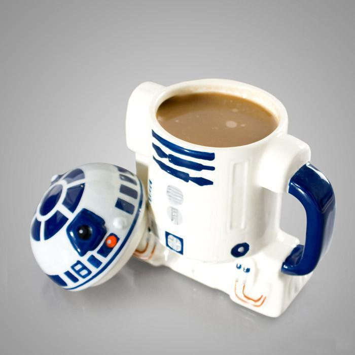 Star Wars R2-D2 3D Mug - - Zeon - Yellow Octopus