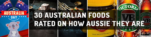 30 Australian Foods Rated on how Aussie They Are