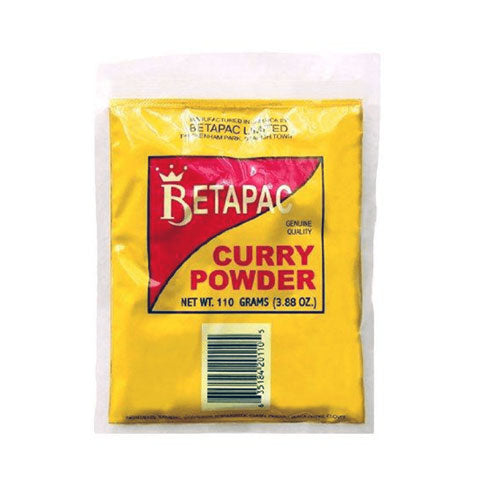 Betapac Jamaican Curry Powder, 110g (3.68oz) - Jacobs Imports