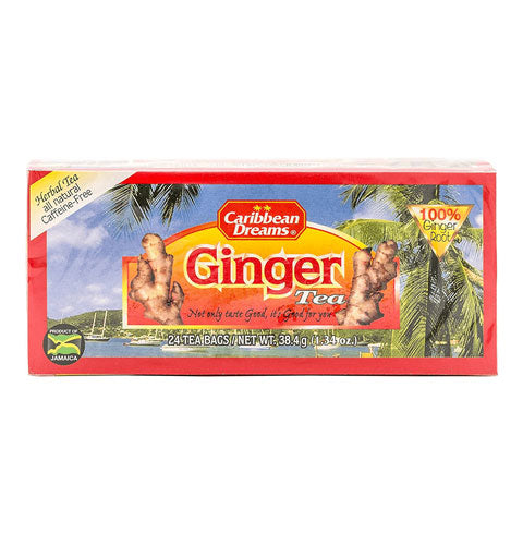 Caribbean Dreams Ginger Tea