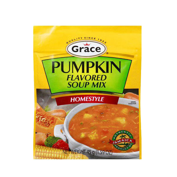 Grace Soup Mix, Pumpkin Flavored, Homestyle 45g