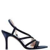AMANI-NEW NAVY SATIN