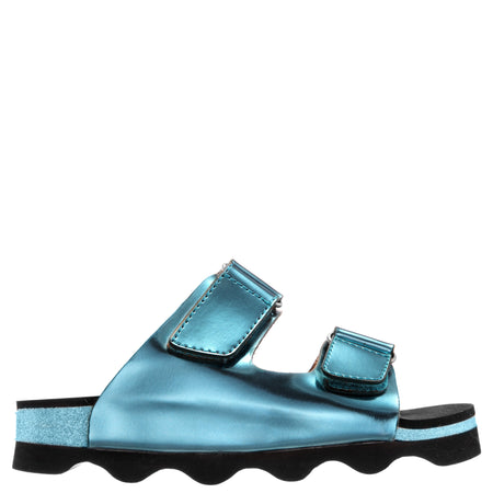 JOSSIE-AQUA MULTI METALLIC