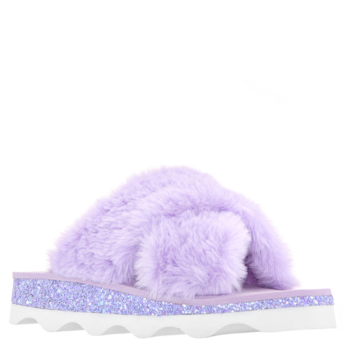 ANJALI-PURPLE FAUX FUR