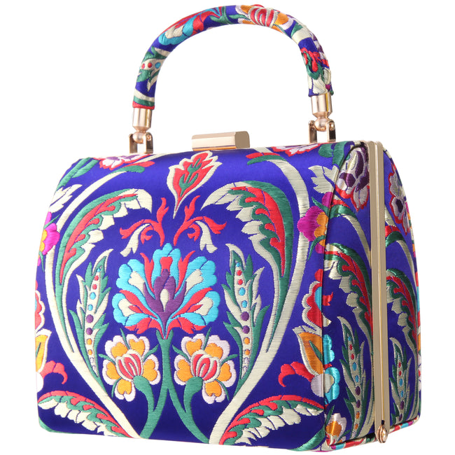 ARTESIA-ELECTRIC BLUE MULTI FLORAL