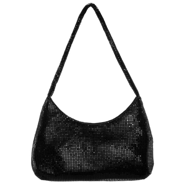 AVERY-BLACK METALLIC MESH